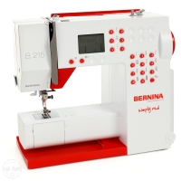 "Bernina 215 Special Edition ""Simply Red"""
