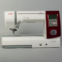 Janome Horizon MC 8900 QCP Special Edition rot gebraucht