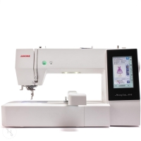JANOME Memory Craft 500 E Ausstellungsmaschine