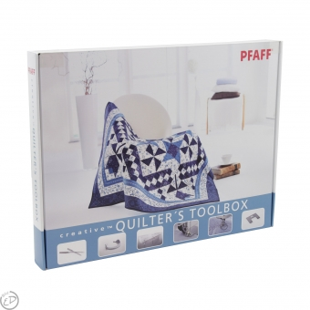 PFAFF Quilters Tool Box Creative Vision