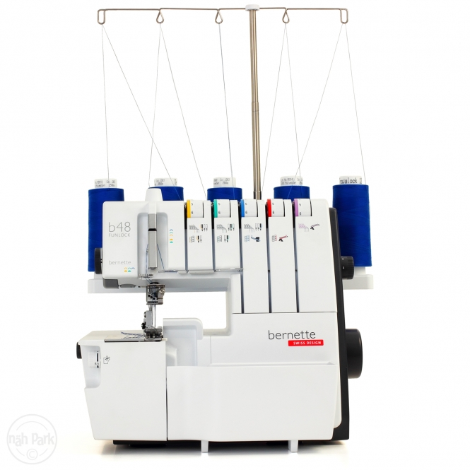 BERNETTE b48 Funlock Ausstellungsmaschine