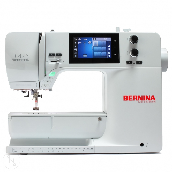 BERNINA B 475 QE mit Snap-on-Füßen