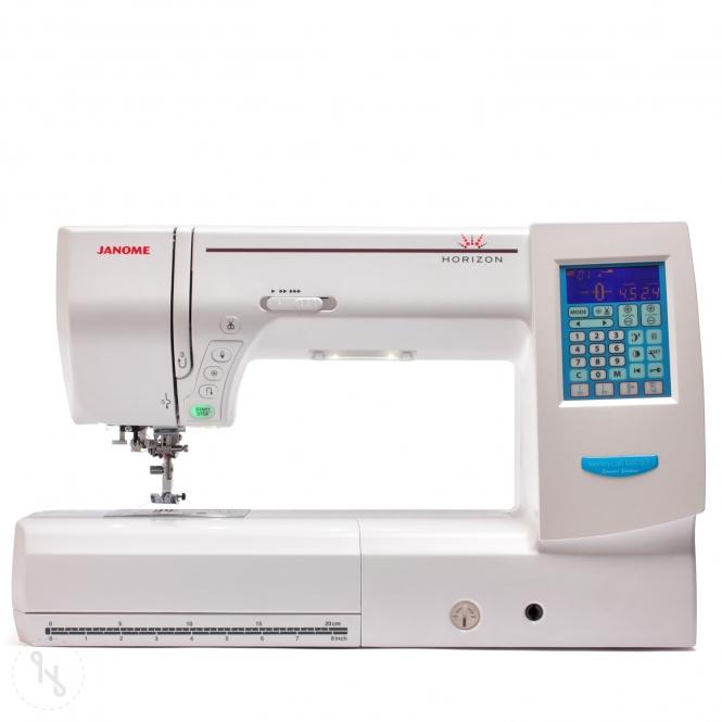 JANOME Horizon MC 8200 QCP Special Edition weiß Ausstellungsmaschine