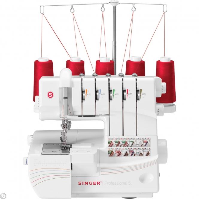 singer overlock professional 5 overlockmaschine g nstig einkaufen bei naehmaschinen. Black Bedroom Furniture Sets. Home Design Ideas