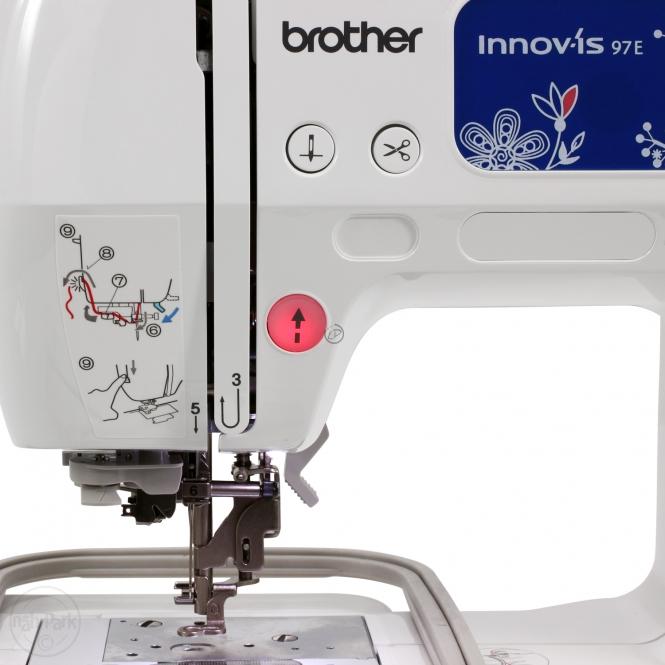 brother innov is 97 e stickmaschine g nstig einkaufen bei naehmaschinen. Black Bedroom Furniture Sets. Home Design Ideas