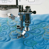 BROTHER Quilt-Applikationsfuß Freihand offen