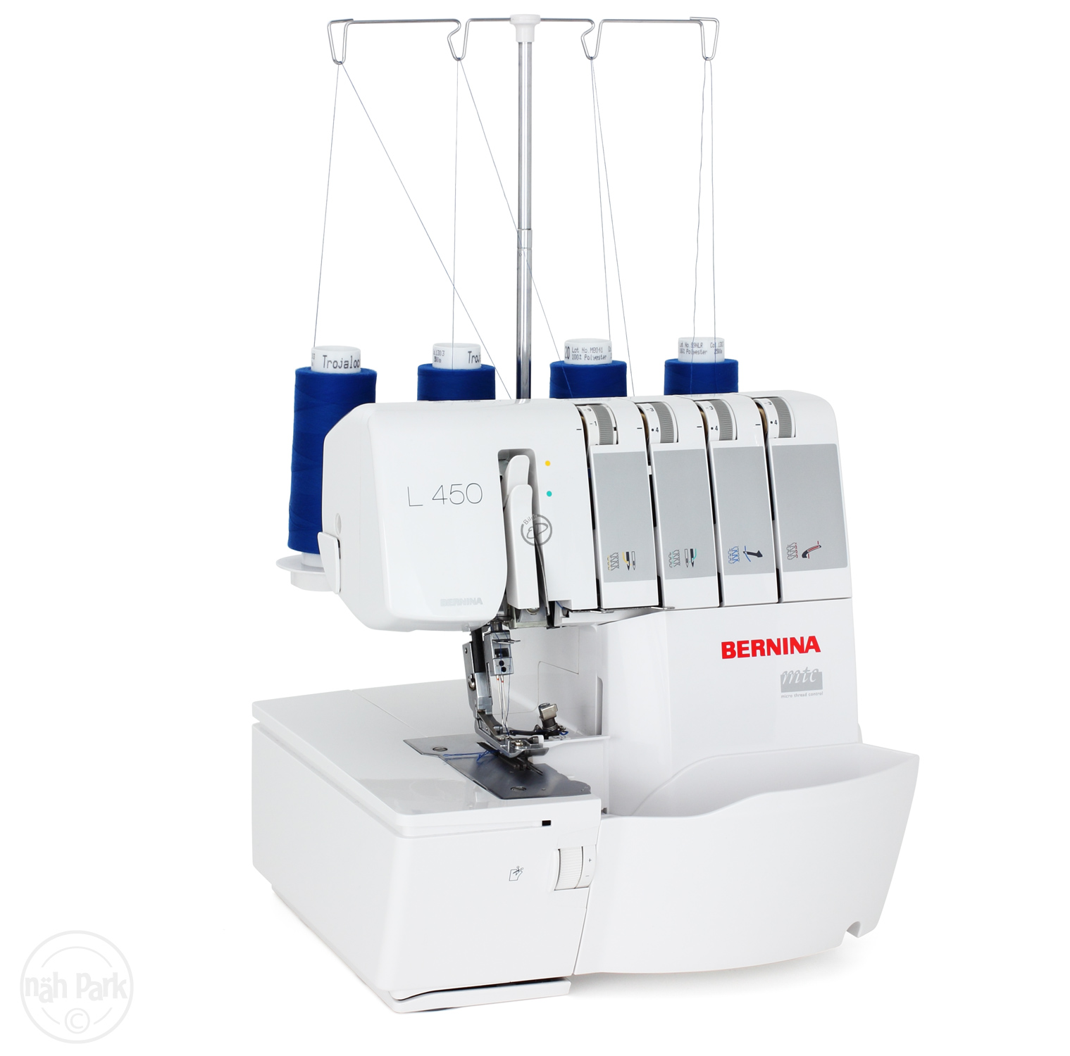 BERNINA L 450 Overlockmaschine günstig einkaufen bei naehmaschinen ...
