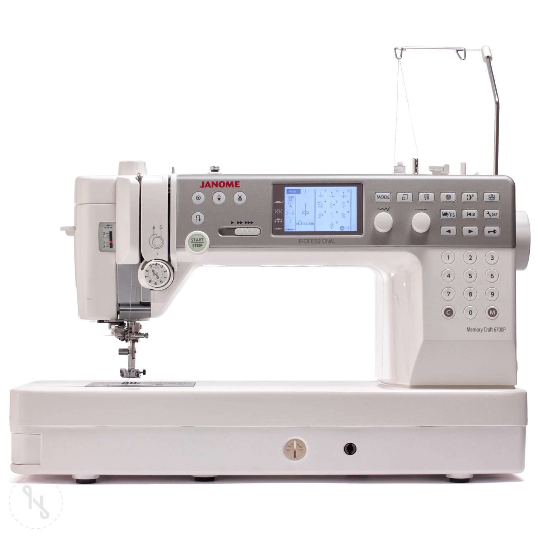 JANOME Memory Craft 6700P Ausstellungsmaschine